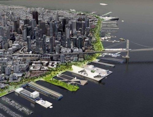 SF Embarcadero + Public Piers Plan (P3), San Francisco (US)