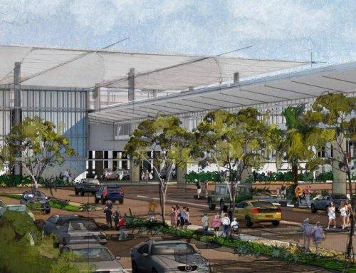Landside Access Modernization Program Consolidated Rent-A-Car Facility (CONRAC), Los Angeles, (USA)